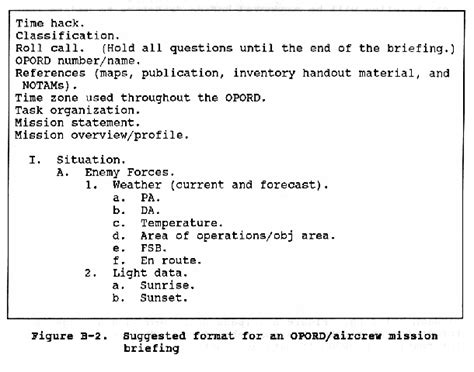 army briefing template fm 1 108 appendix b