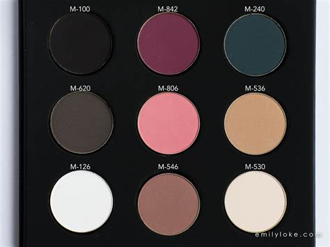 Pallet Make Up Inez makeup forever artist eye palette makeup tips and review