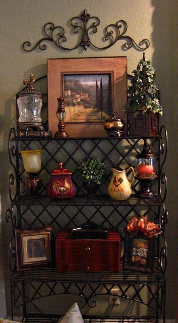 120 best images about bakers rack decor on Pinterest