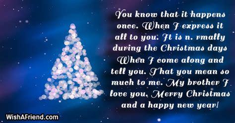 christmas message  brother