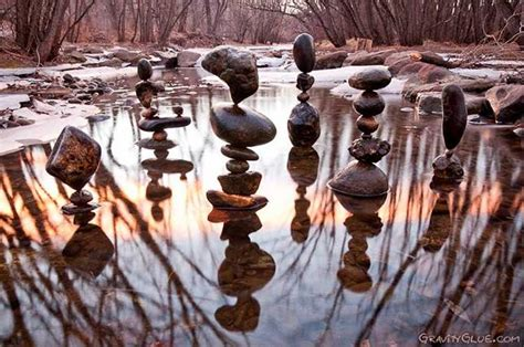 balancing stones artist finds peace mnn mother