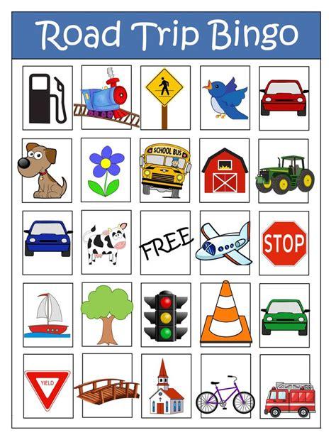 printable road bingo 62 best scavenger hunts images on pinterest activities