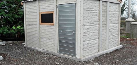 Prefab Concrete Shed by Concrete Sheds And Precast Concrete Sheds From Lm Garages