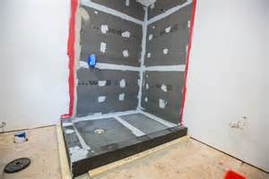 wedi waterproof shower system a concord carpenter