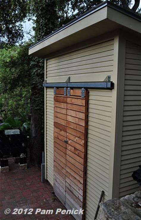 Sliding Door Hardware For Shed by 25 Best Ideas About Exterior Barn Doors On