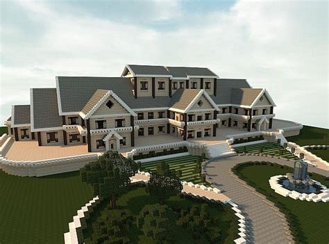 Building A Mansion | luxury mansion minecraft building ideas house design