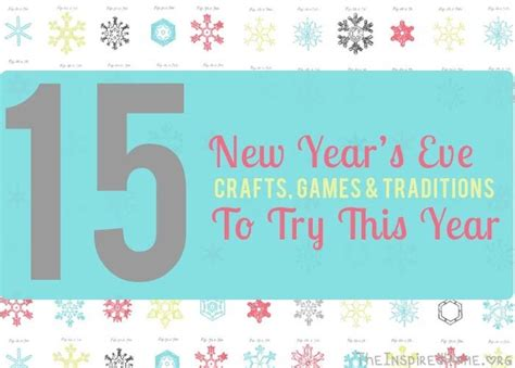 new year 15 day traditions terrific traditions 15 new years ideas to try the