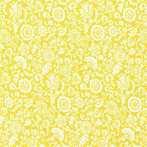 pale yellow pattern fabric liberty tana lawn fabric clare and emily c yellow alice