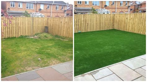 Backyard Play Area Ideas Low Maintenance Gardens In Redcar Before And After