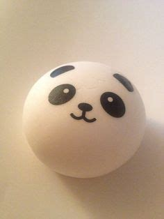 Squishy Licensed Panda Jumbo Burger By Johwa brown rilakkuma squishy cellphone charm kawaii