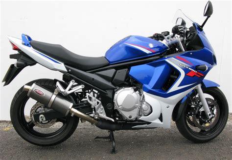 Suzuki Gsx650f Accessories Gsx650f 2008 Gt Motorbike Exhausts Fuel Exhausts