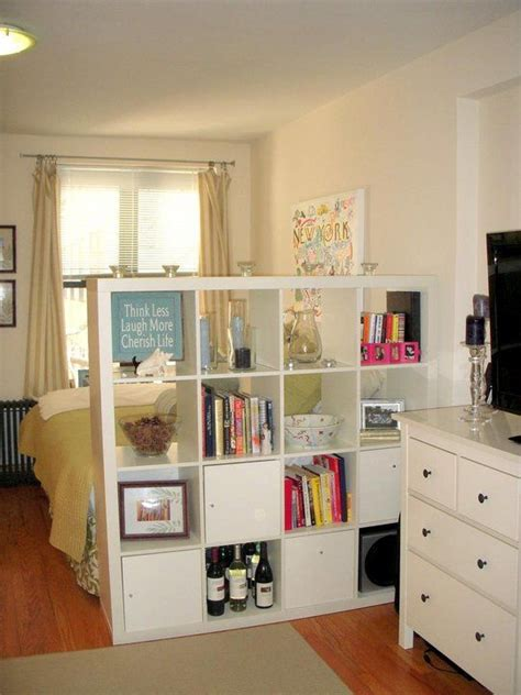 how to organize a studio apartment 25 best ideas about bookshelf room divider on pinterest