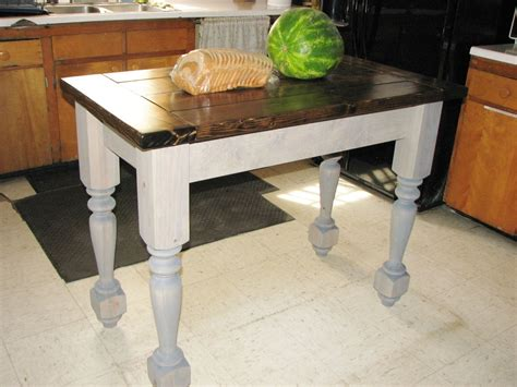 Kitchen Island Leg Buy A Custom Turned Legs Kitchen Island Made To Order