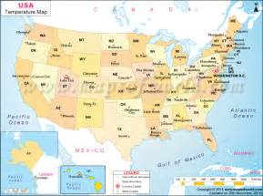 Usa Map Weather by Us Weather Map Us Weather Forecast Map