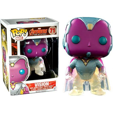 Funko Pop Marvel 2 Vision funko pop marvel vision vinyl bobble phasing