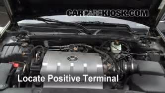 Where Is The Battery On A 2000 Cadillac How To Jumpstart A 1998 2004 Cadillac Seville 2003