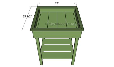 Herb Planter Box Plans Free Outdoor Plans Diy Shed Herb Planter Box Plans