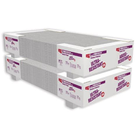 shop fiberock brand 0 625 in x 48 in x 96 in gypsum backer board at lowes com