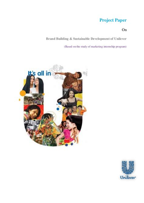 Sustainability Mba Internship by Bba Internship Report On Brand Building Sustainable