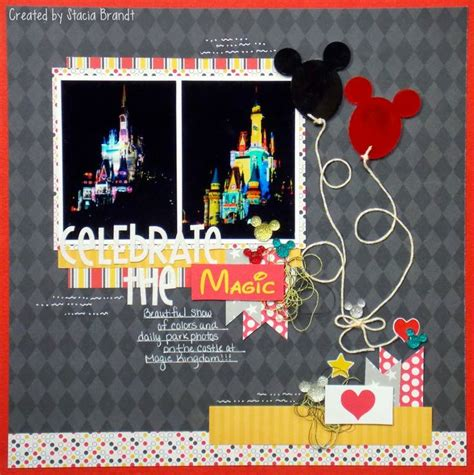 Frugal Scrapbooking 2 9 by The Disney World Scrapbook Page Queenco