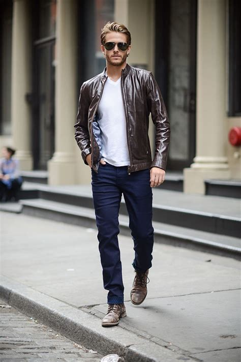 best 25 brown leather bomber jacket ideas on