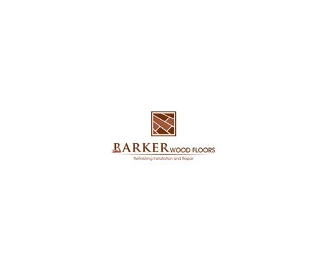 floor and decor logo masculine bold logo design for barker wood floors by ashu