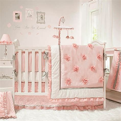 The Peanut Shell® Arianna Crib Bedding Collection   Bed