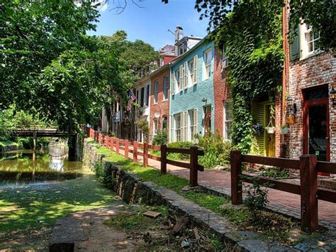 canal boat rides dc national parks in district of columbia washington d c