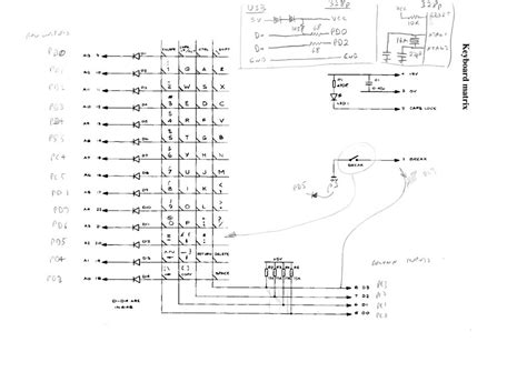 circuit diagram keyboard wiring diagram with description