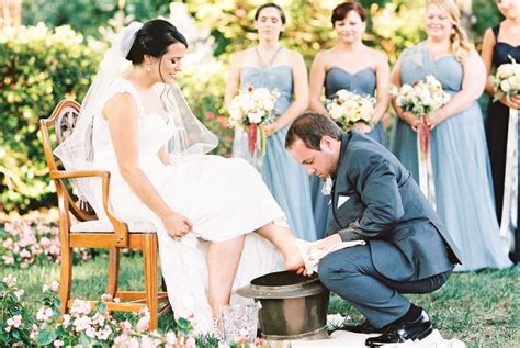 Wedding Ceremony Washing by Wedding Tradition Foot Washing Ceremony Snippet Ink