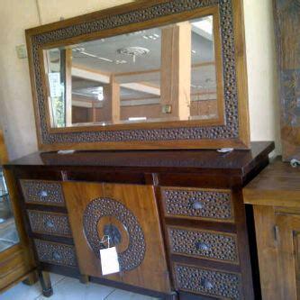 Cermin Jati Minimalis bufet minimalis cermin sunni jati mebel jepara