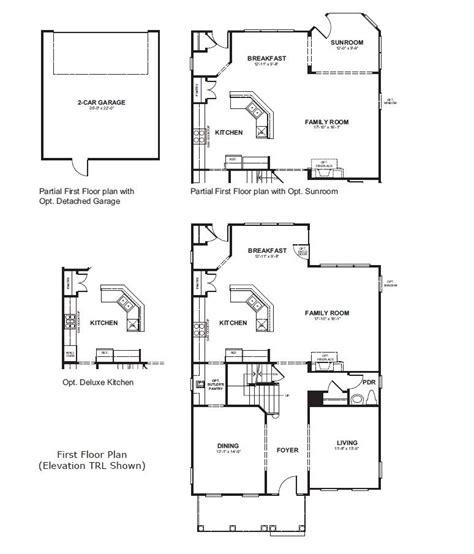 beazer home plans bancroft home plan in bentley park burtonsville md