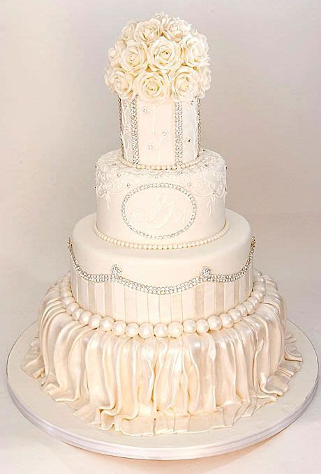 Wedding Cake Year Later by The Year Wed With Style