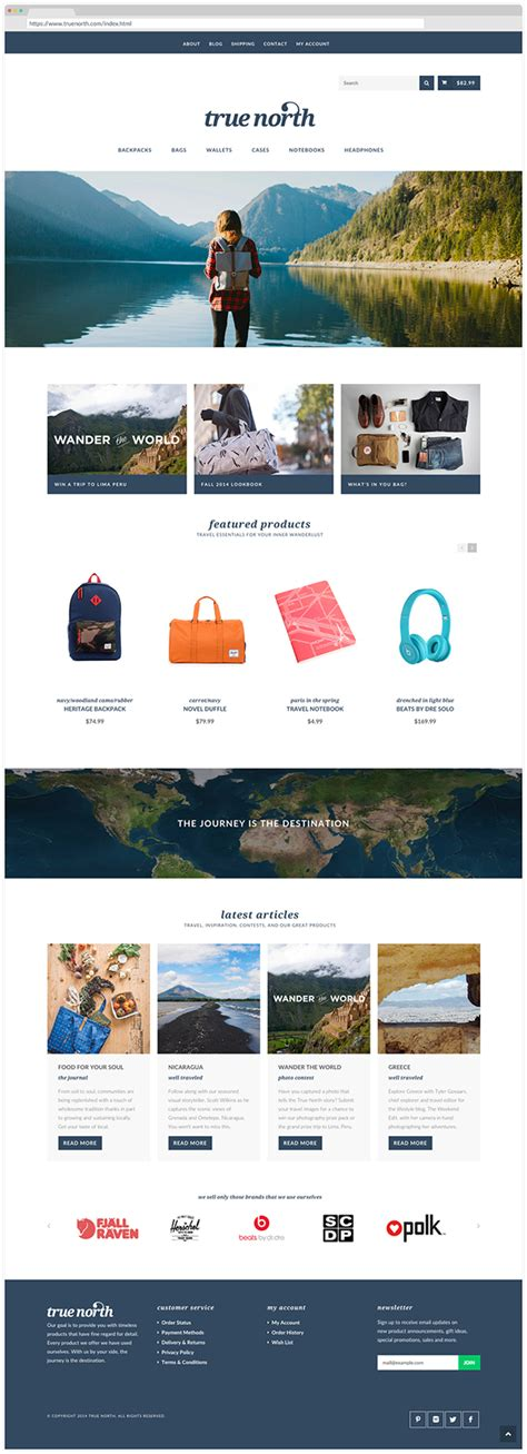 ui layout north true north on pantone canvas gallery