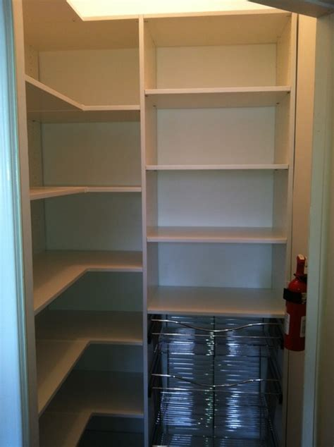 Walk In Linen Closet Design by Pantry Traditional Closet Philadelphia By