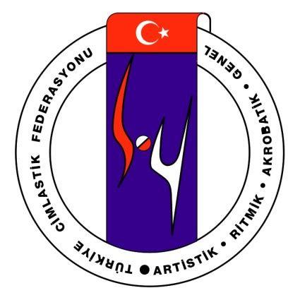 turkiye cimnastik federasyonu vektor logo kostenlose