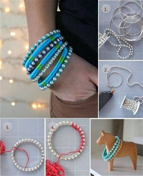 How To Make Handmade Jewellery At Home - learn how to make a fashionable bracelet crafts