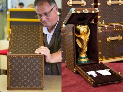 Louis Vuitton Cristiano Ronaldo With His Louis Vuitton Bag by Louis Vuitton 2010 Fifa World Cup Pokal Daily Gossip