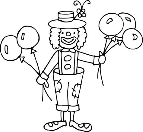 circus coloring book escape to the circus world with this fanciful coloring odyssey books clown black and white clipart