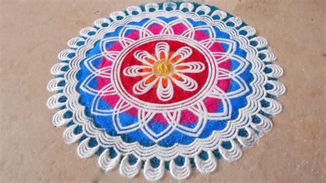Best Rangoli Designs For Diwali 2016 Free Hand Rangoli Best Designs For In India