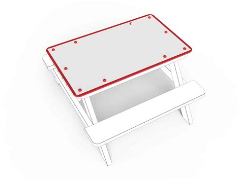 tabletop small whiteboard esp school playground