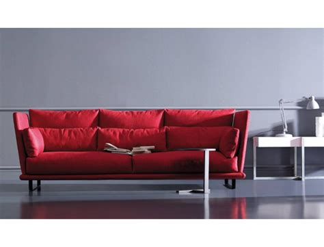 high sofa nest triple sofa high back low arms arflex