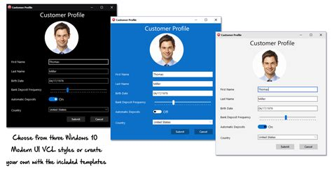 hairstyles app for windows new vcl styles and style enhancements in rad studio 10