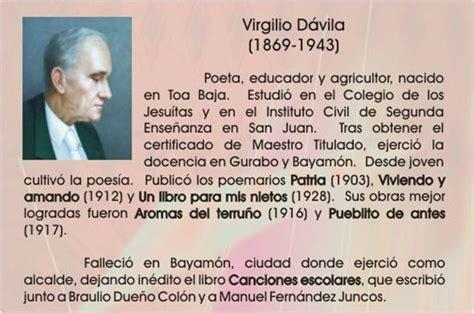 libro patria volumen independiente spanish poemas de virgilio davila ilustres