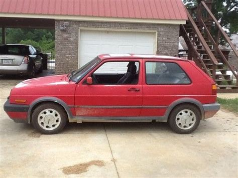 sell used 1992 volkswagen golf gti 8 valve hatchback 2 door 1 8l in caledonia mississippi