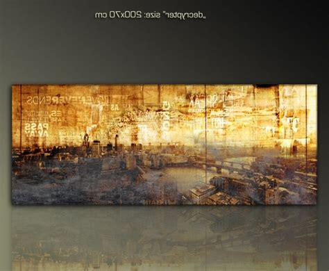 moderne wandbilder wohnzimmer paul sinus xl skyline