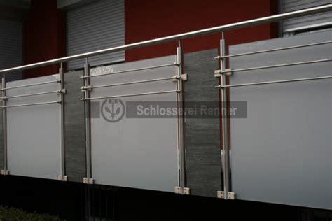 Balkon Sichtschutz Glas 344 by Balkongel 228 Nder Schlosserei Renner