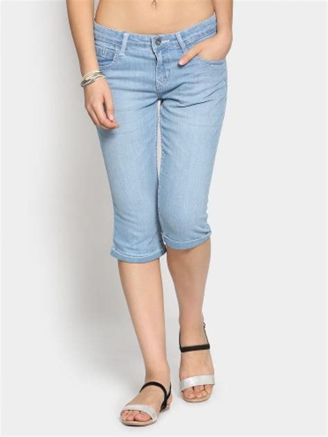 light blue jeans womens light blue jean capris breeze clothing