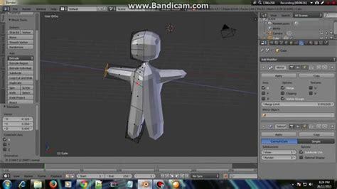 tutorial blender 3d membuat karakter cara membuat karakter 3d pada blender 3d youtube