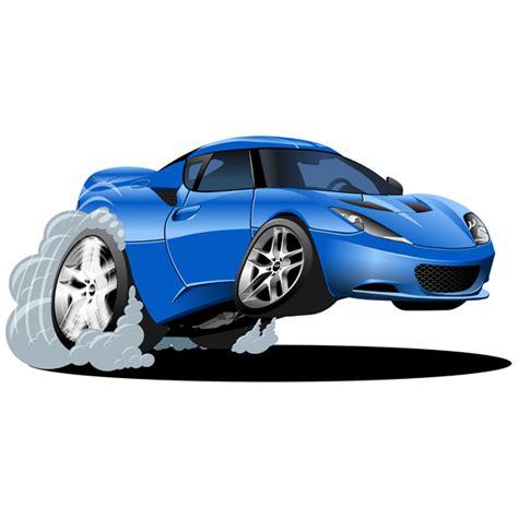 Beschleunigung Auto by Kinderzimmer Wandtattoo Blaues Auto Beschleunigung